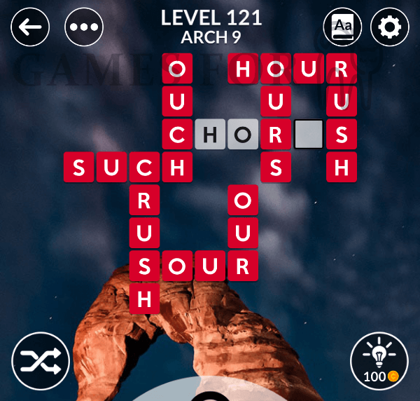 Wordscapes Level 121 Answers All Modes Games For Cats