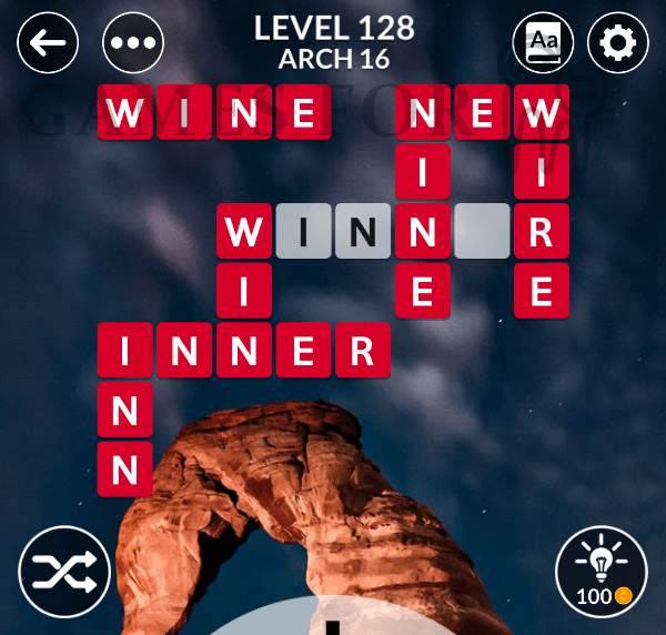 Wordscapes Level 128 Answers All Modes Games For Cats