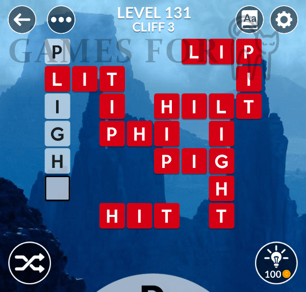 Wordscapes Level 131 Answers All Modes Games For Cats