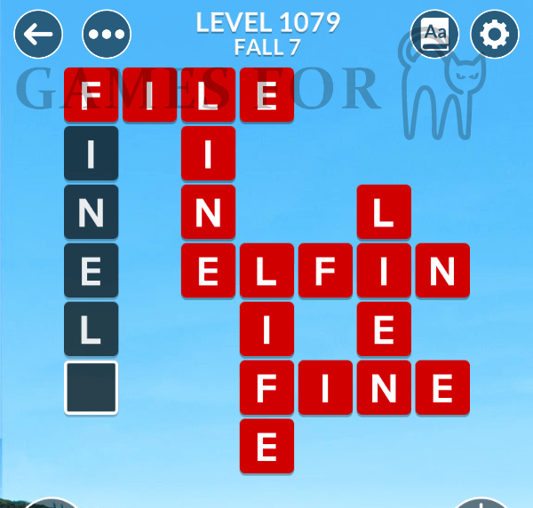 Wordscapes Level 1079 Answers