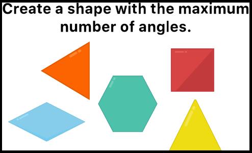 easy game Create a shape