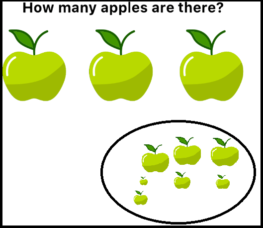 easy game how many apples